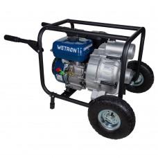 Мотопомпа 7.5л.с. Hmax 26м Qmax 60м³/ч (4-х тактний) для брудної води WETRON (772557)