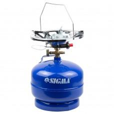 Комплект газовий кемпінг з пьезоподжигом Comfort 5л SIGMA (2903111)
