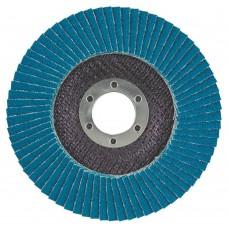 Круг пелюстковий торцевий Т27 (прямий) ZA Ø125мм P100