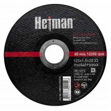 Круг відрізний для металу Hetman 41 14А 125 1,2 22,23 + нерж