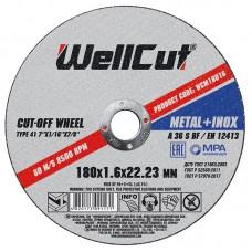 Круг відрізний для металу WELL CUT 180*1,6