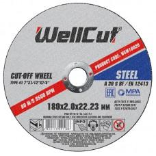 Круг відрізний для металу WELL CUT 180*2,0