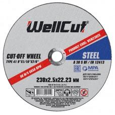 Круг відрізний для металу WELL CUT 230*2,0
