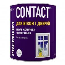 "Емаль акрилова універсальна ""CONTACT"" біла 0,75 л"