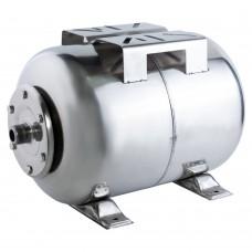 Гідроакумулятор горизонтальний 24л (нерж) WETRON