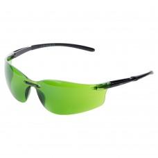 очки защитные Falcon anti-scratch (зеленые затемненные)