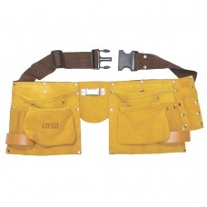 пояс слесарный кожаный 11 карманов Grad