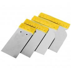 Набір шпателів без рукоятки (нержавіючих) 50, 80, 100, 120мм SIGMA (8321571)