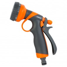 Пістолет розпилювач 8-ми режимний (ABS+TPR) FLORA (5011354)