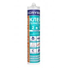 LACRYSIL Клей-герметик акриловий «2 в 1» 280 мл