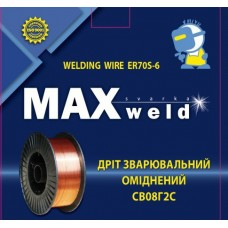 Дріт Maxweld ER70S-6 ф.0,8мм (4кг)
